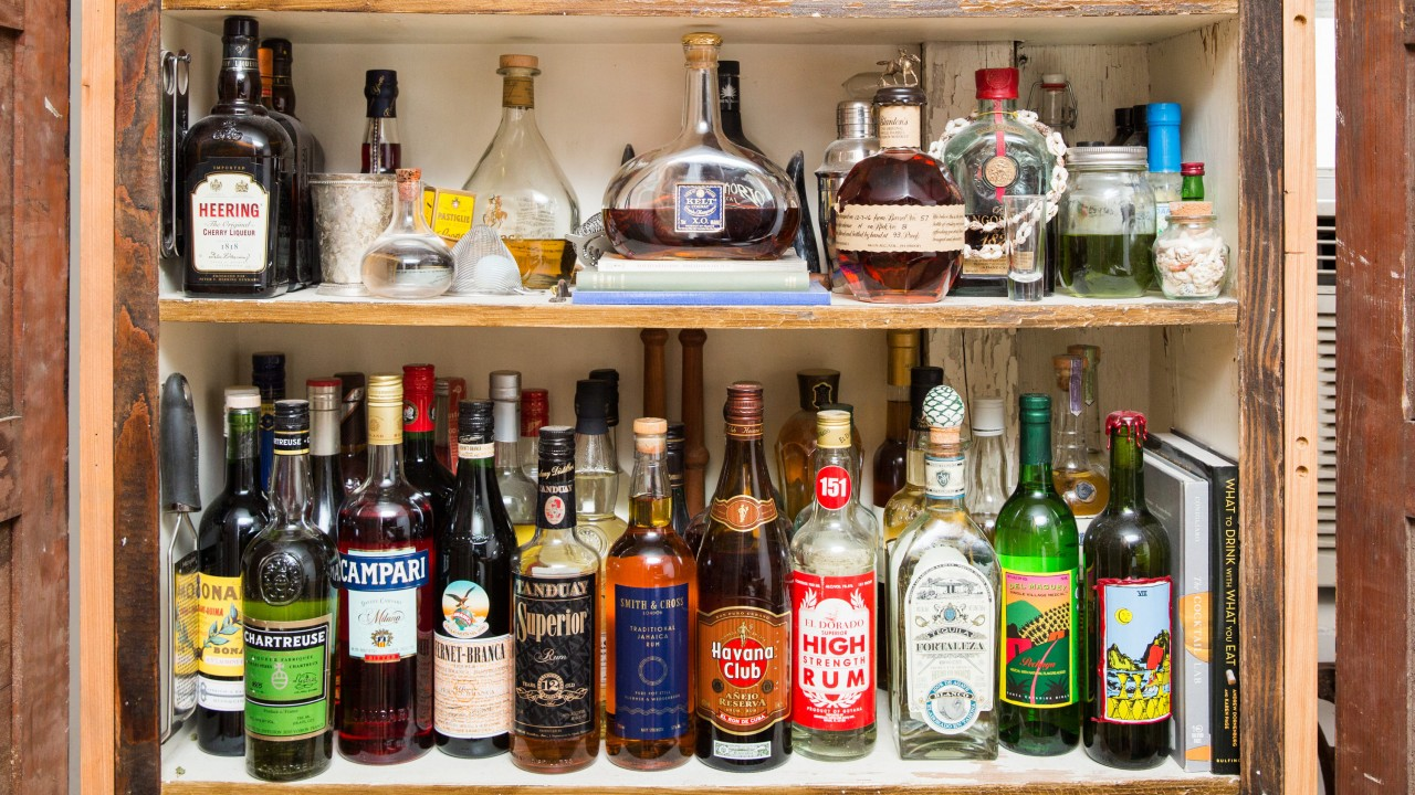 A Restaurateur Who Has 100+ Liquors in His Pantry