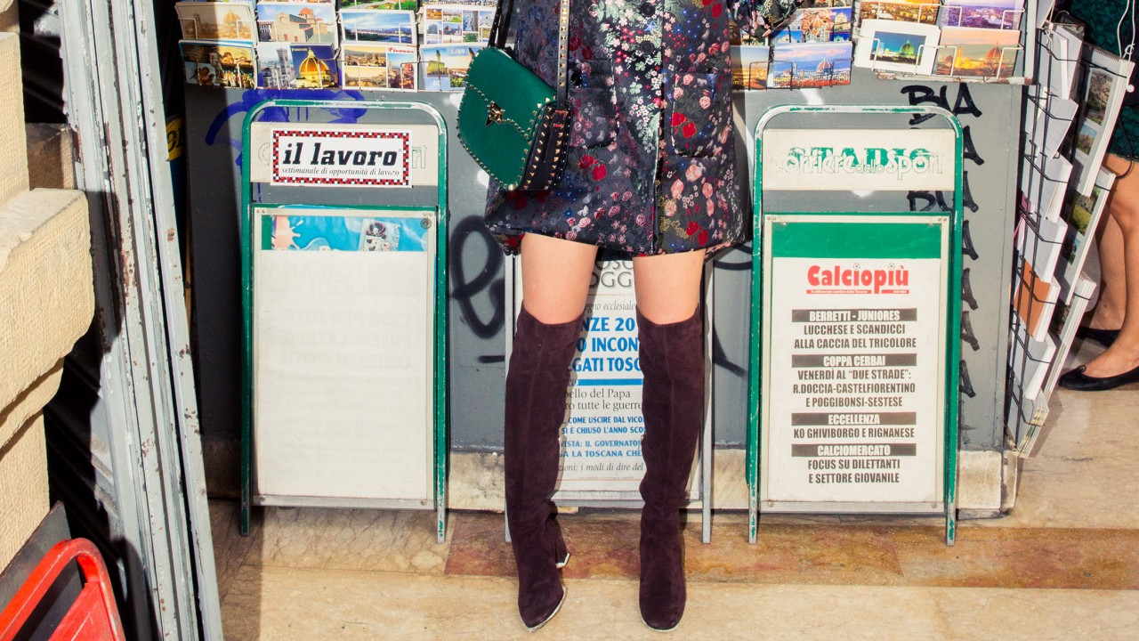 How to Wear Over-the-Knee Boots like a Modern Woman