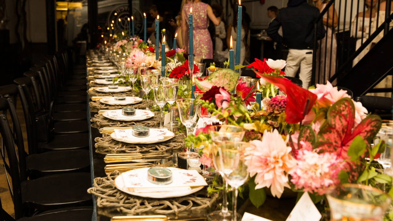 Coveteur and Markarian Kick Off Fashion Week with Celestial-Inspired Dinner