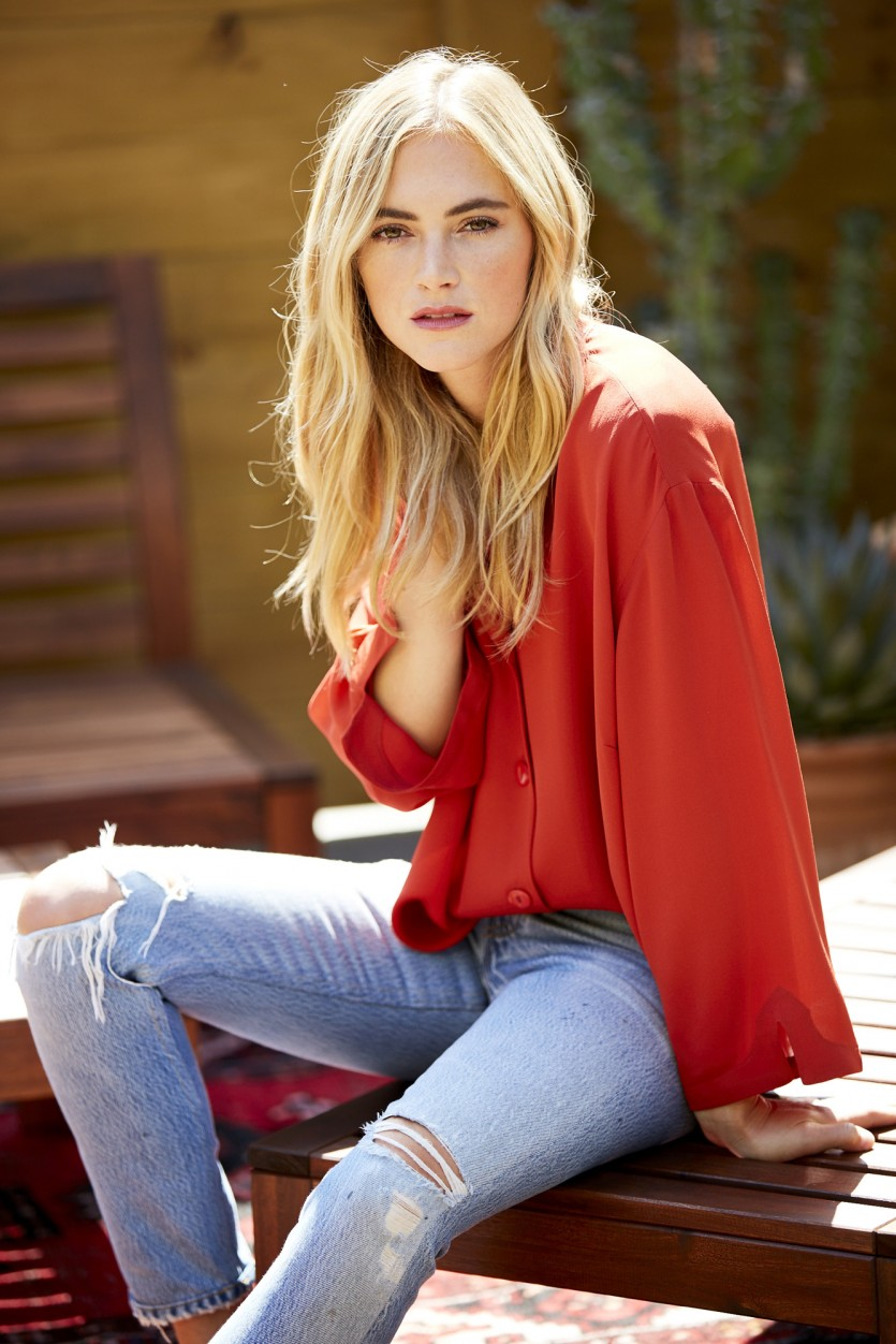 Emily wickersham talks adult acne beauty products and - Emily wickersham gardener of eden ...