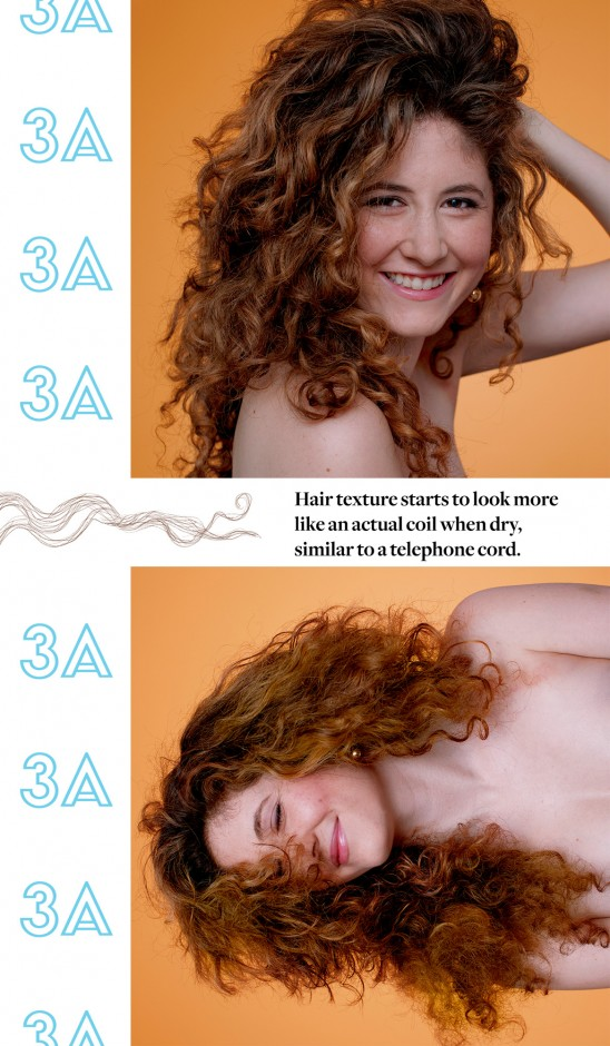 How To Determine Your Curl Pattern And Hair Type Coveteur Classy Curl Pattern