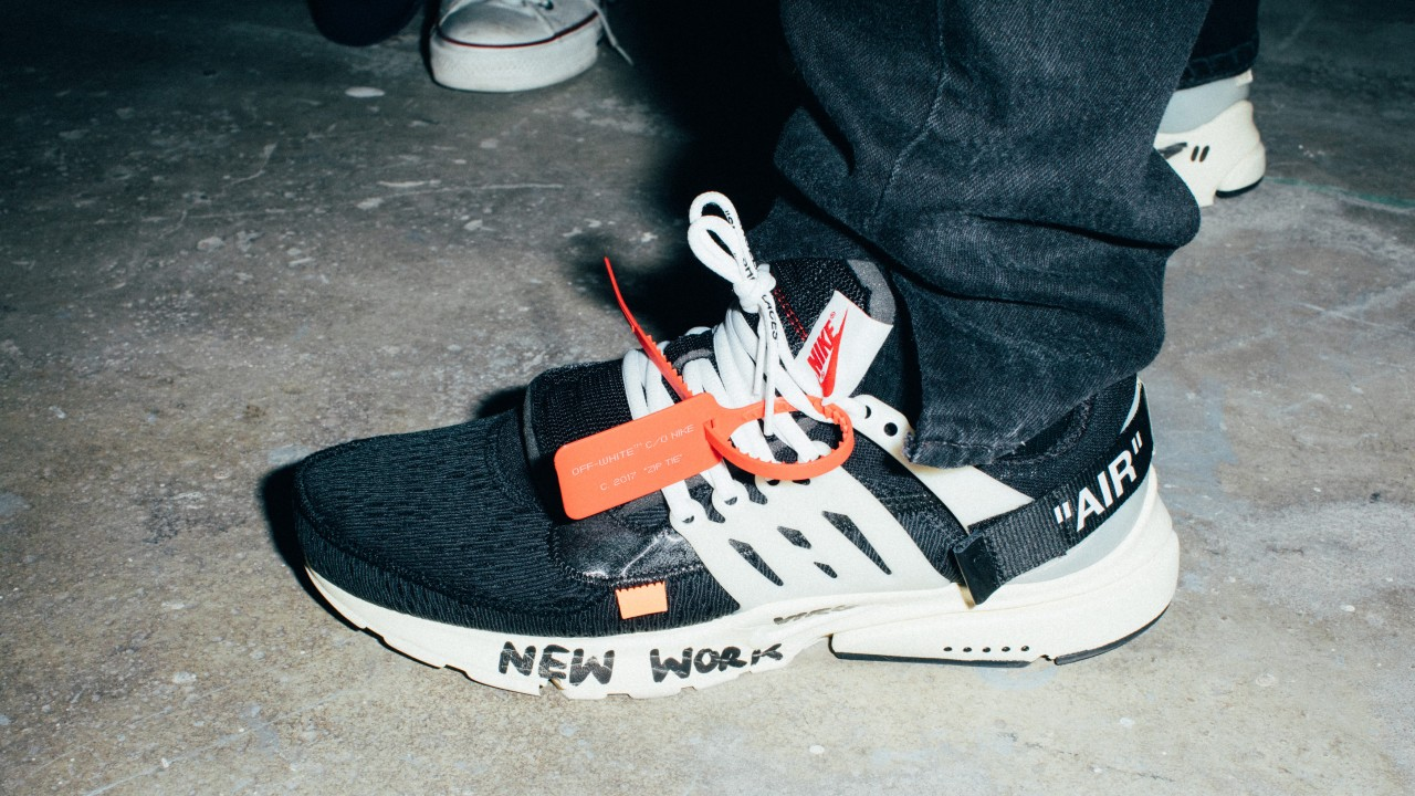 Virgil Abloh Talks His Collaboration with Nike at Off Campus