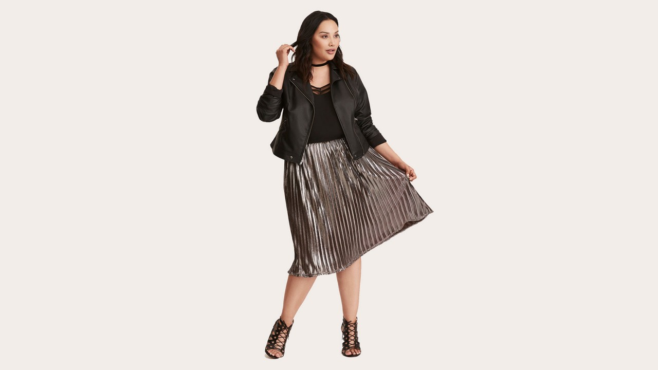 15 Plus-Size Midi Skirts You Need in Your Fall Wardrobe Stat