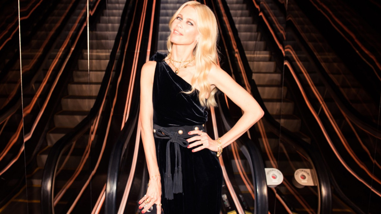 Claudia Schiffer on How It Felt to Be Part of *That* Versace Runway Moment