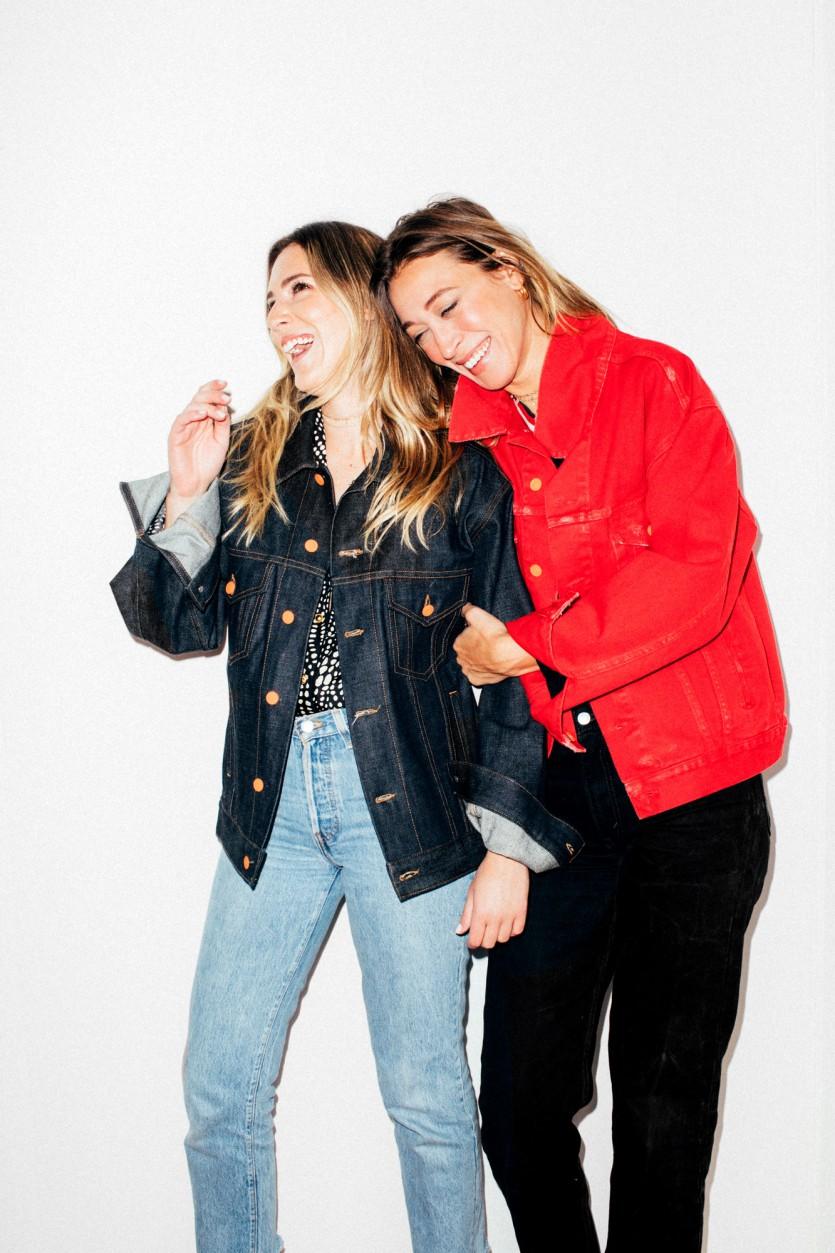 Alana Hadid And Emily Perlstein Launch La Detresse Denim Jackets Coveteur