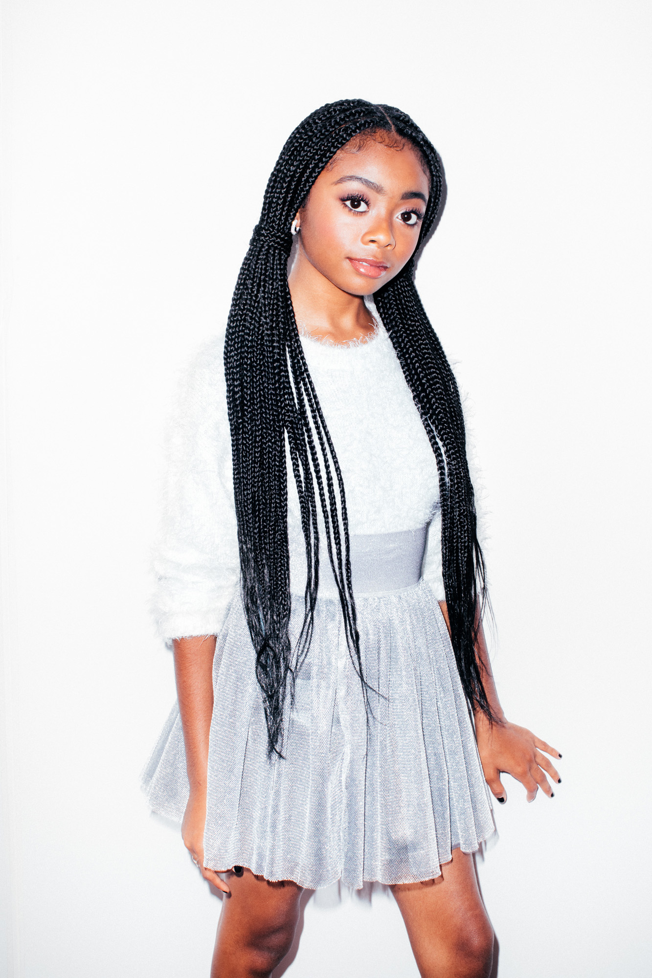 skai jackson talks her personal style staying positive and more