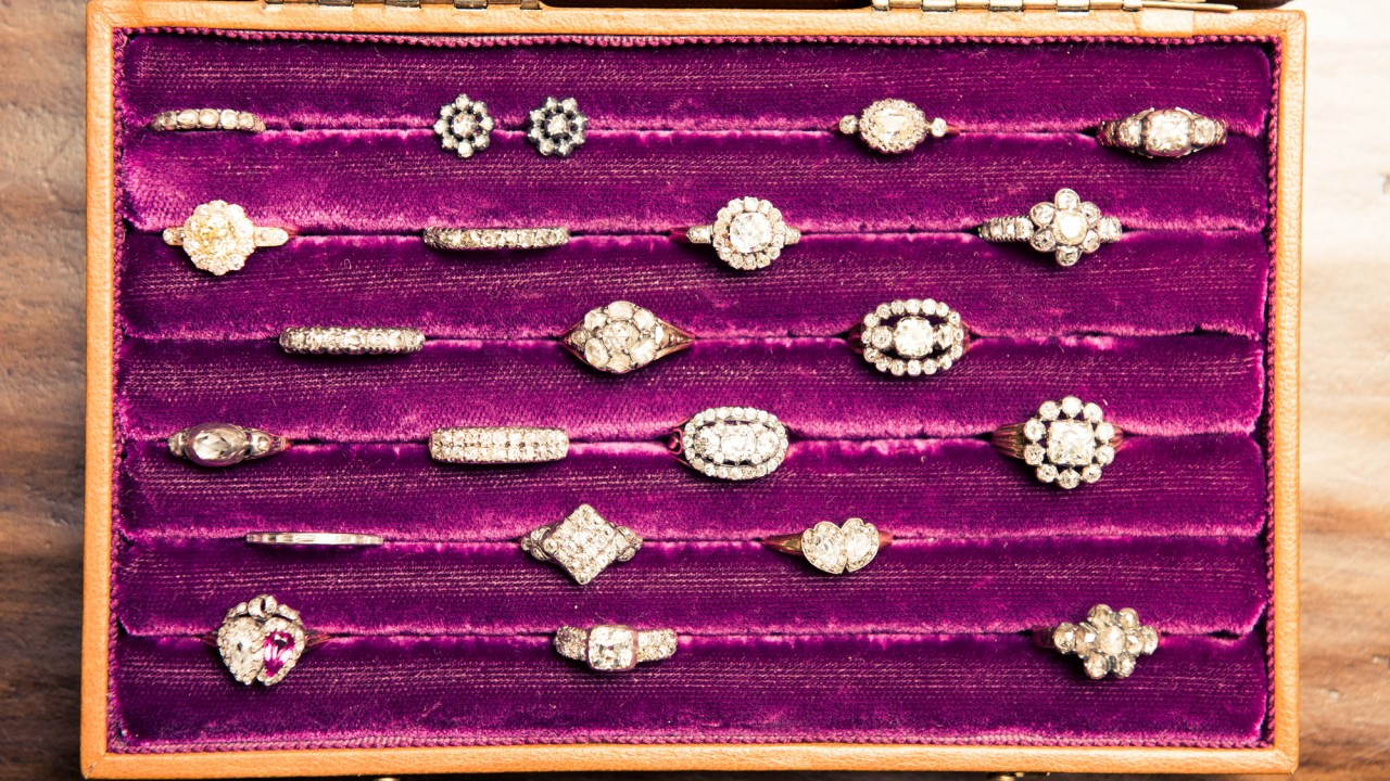 An Antique Jewelry Collection That Broke Our Brains