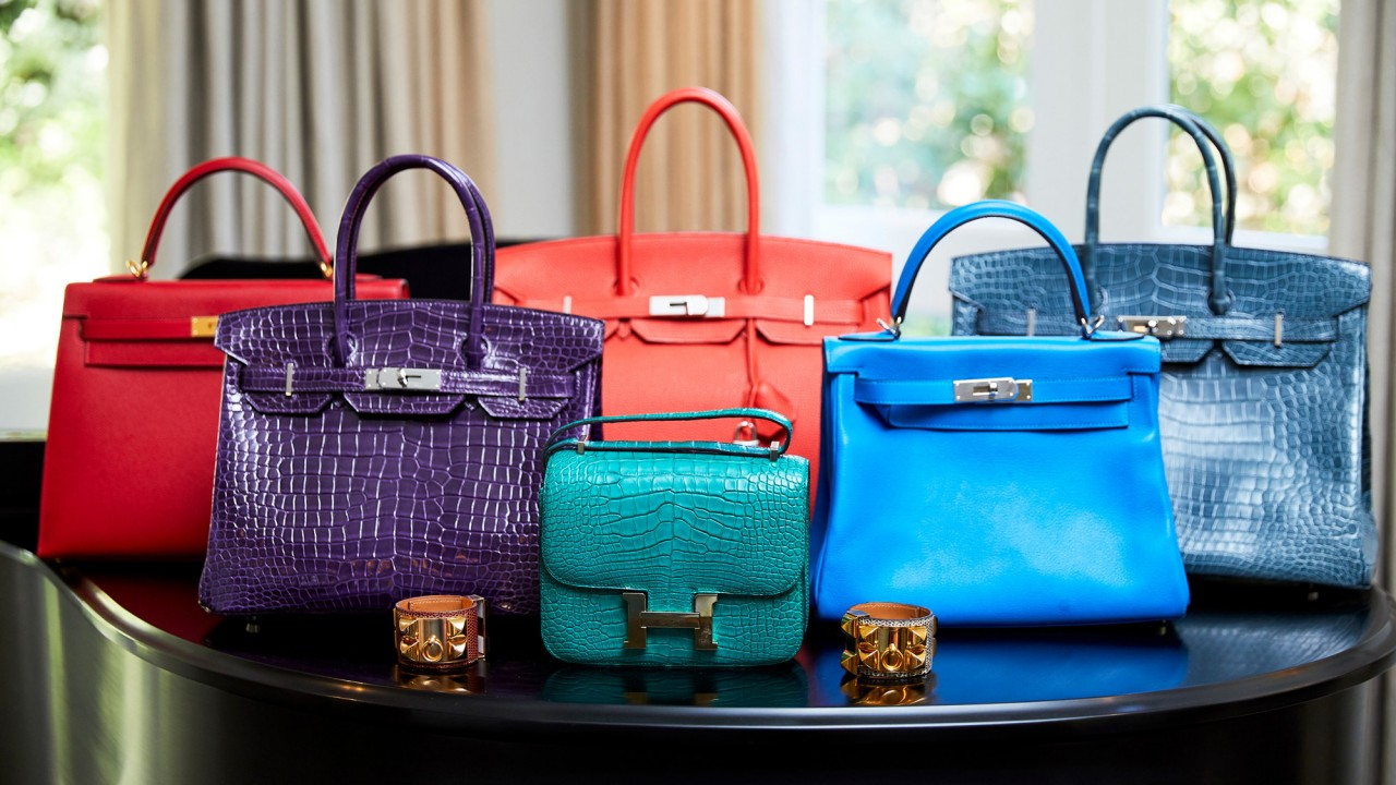 This Over-the-Top Fashion and Art Collector Has 28 Birkins in Every Color