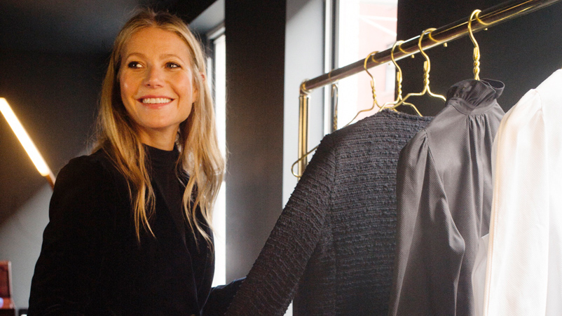 Gwyneth Paltrow Approves of Wearing Pajamas to the Grocery Store