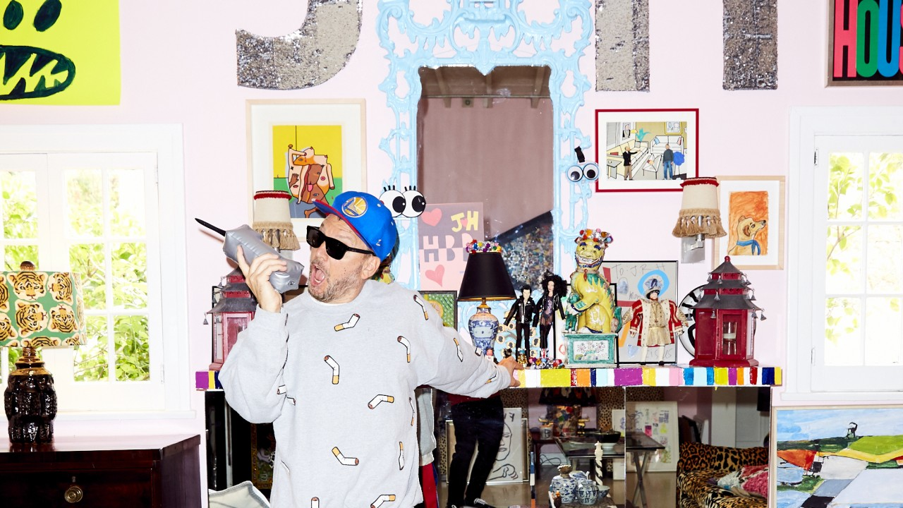 Libertine Designer's Damien Hirst-Filled Home Is an Acid Trip of the Best Kind