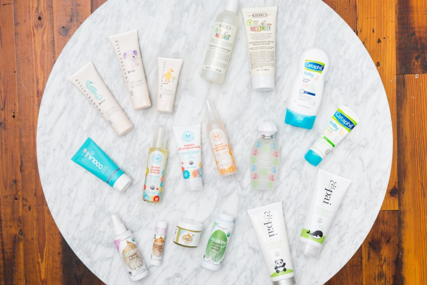baby products for skin and hair