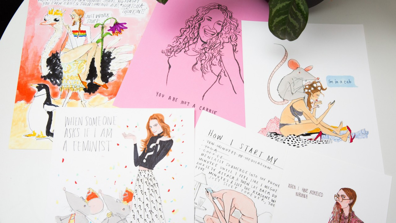 Everything You See On Your Feed Is a Lie—Even Instagram's Favorite Illustrator Agrees