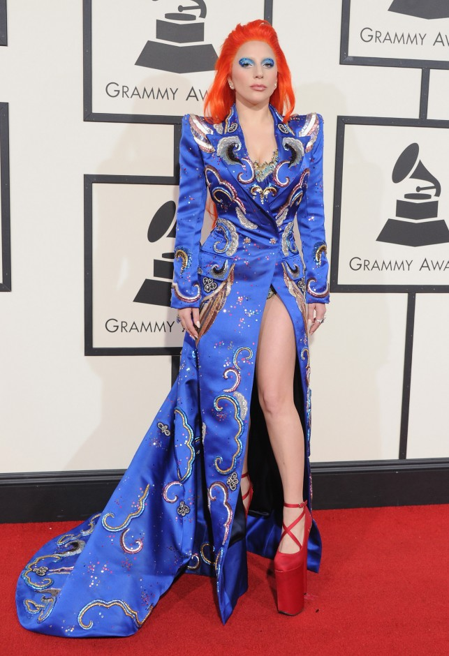 Lady Gaga S 2018 Grammys Outfit Might Be Her Tamest Ever
