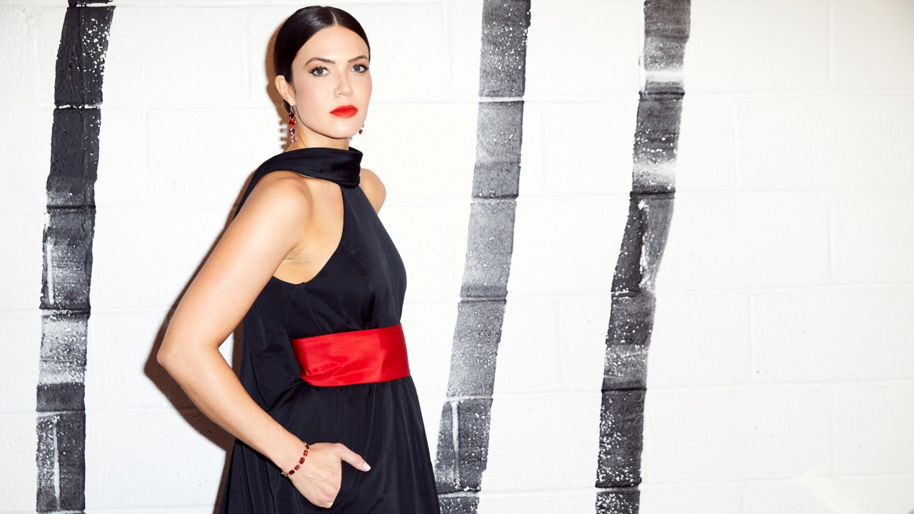 Exclusive: Mandy Moore Told Us She Was Always Planning on Wearing Black to the Golden Globes
