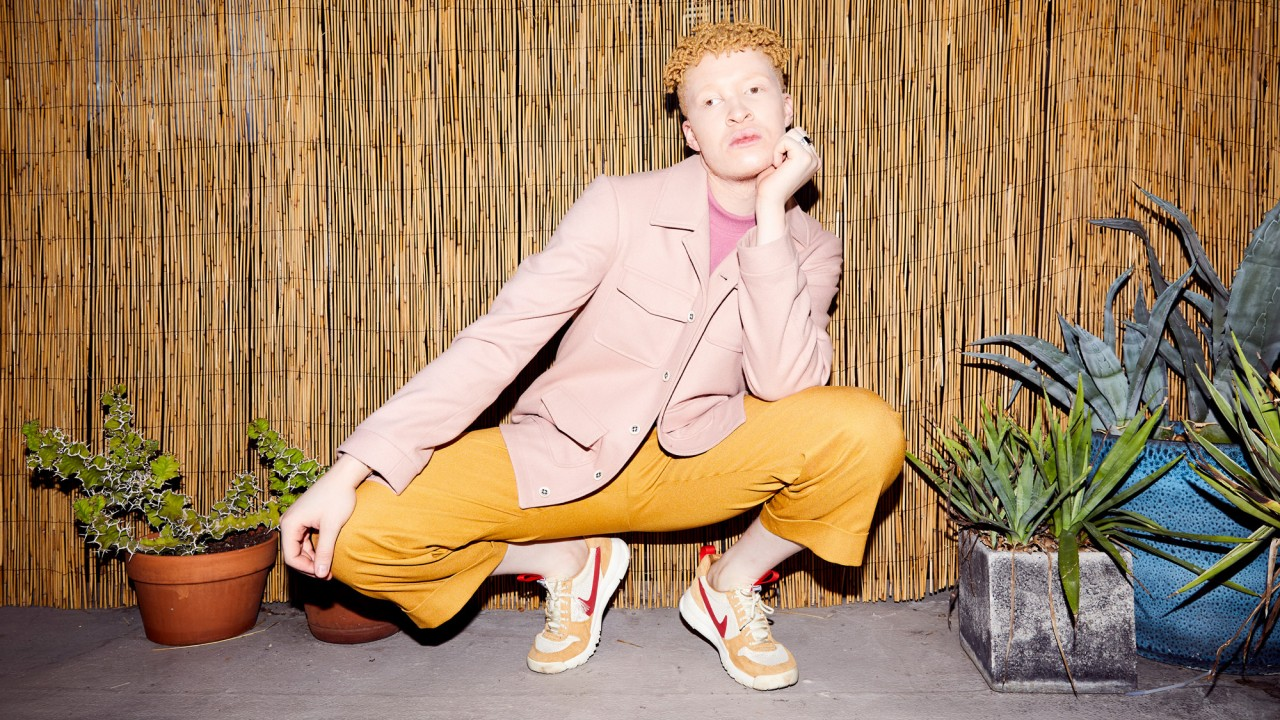 Model Slash Musician Shaun Ross Has A Closet Full of Emerging Brands