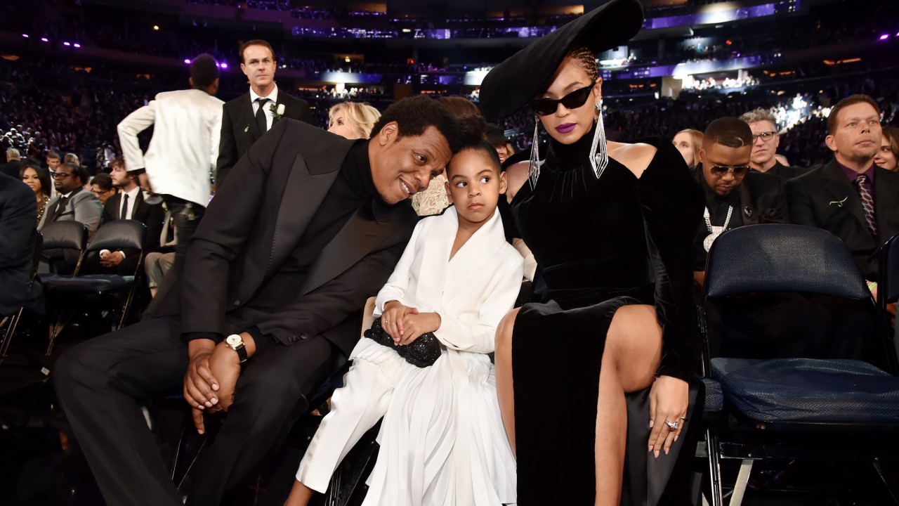 Blue Ivy Shushing Beyoncé Wasn't the Only Funny GIF to Come Out of the Grammys
