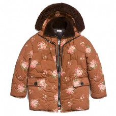 coach oversized eiderdown printed puffer jacket