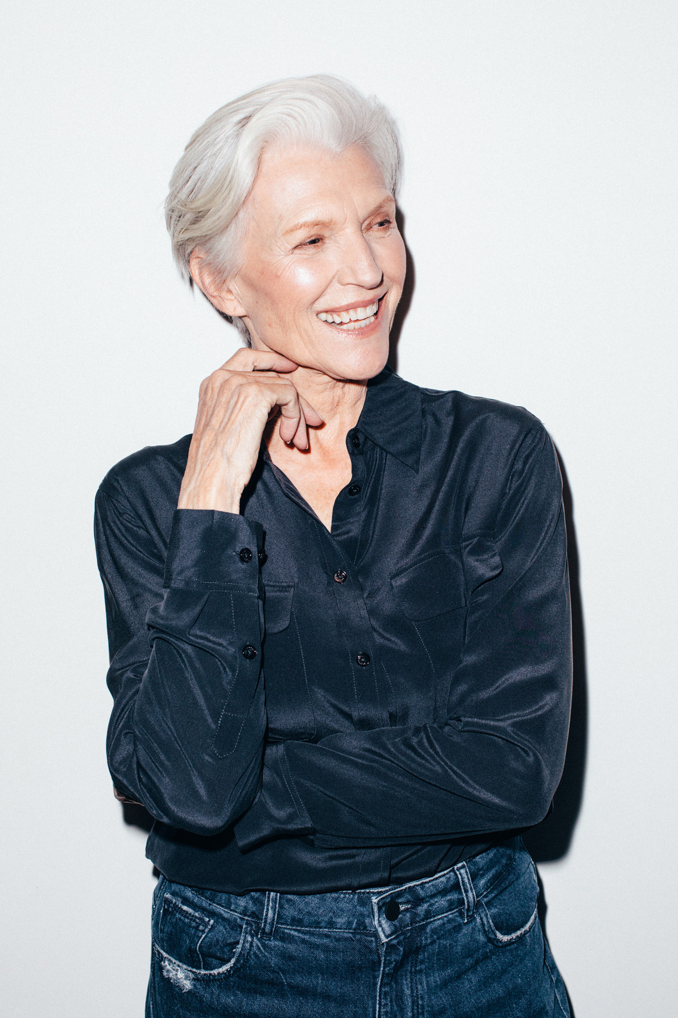 Model Maye Musk Talks Confidence, Eating Healthy, and More