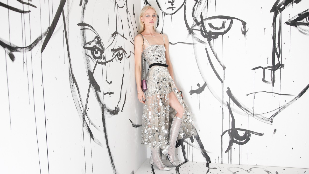 Supermodel Sasha Pivovarova Opened New York Fashion Week with Dior