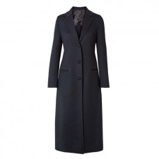 joseph archi brushed wool and silk blend coat