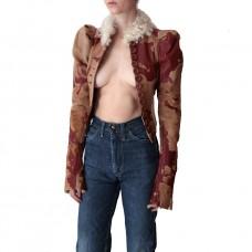 scout la vintage john galliano cowhide jacket