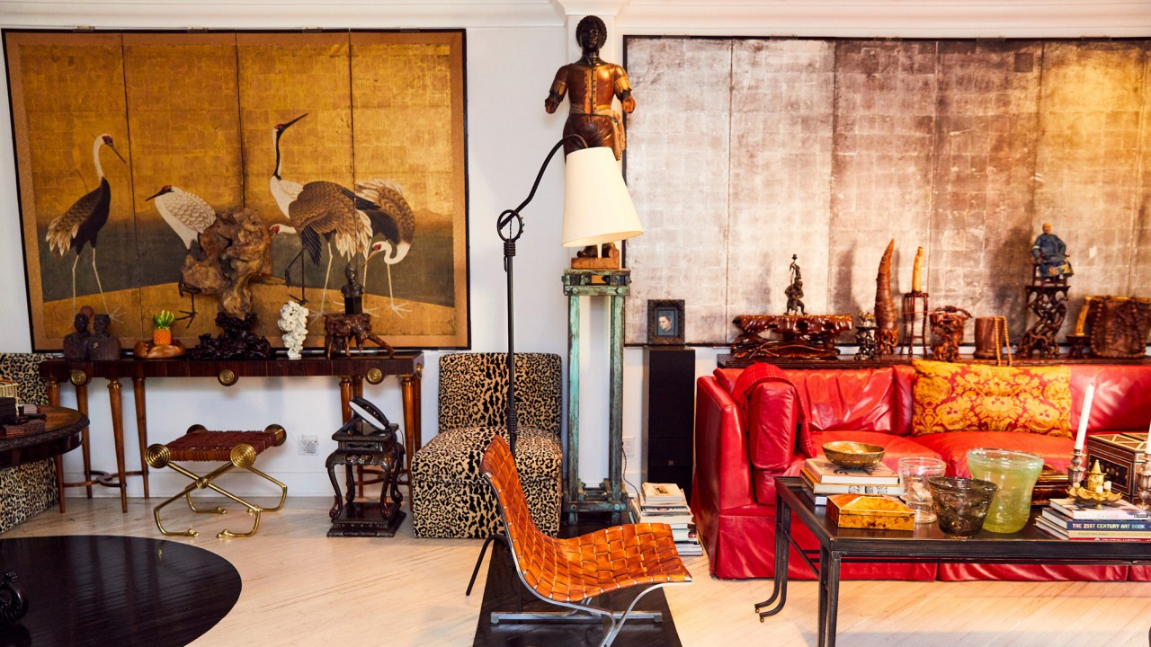 At Home with Mary-Kate and Ashley Olsen's Antiques Dealer
