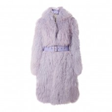aks potts belted shearling coat
