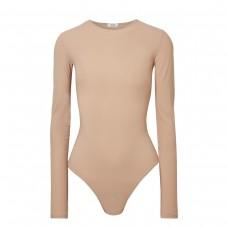 alix leroy jersey stretch bodysuit