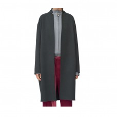 celine egg shape coat in double face cashmere