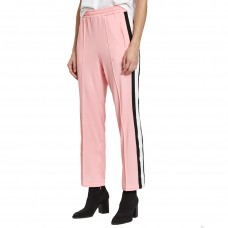 ganni dubois polo pants in sea pink