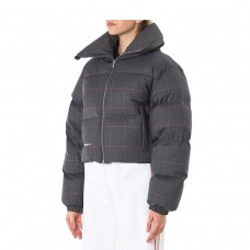 misbhv plaid woo ldown jacket