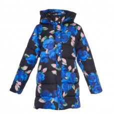 msgm floral floral puffer coat