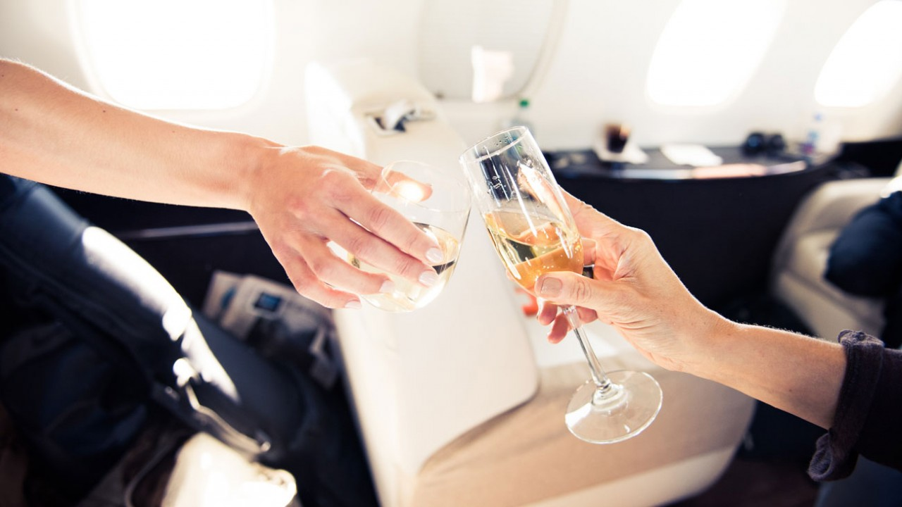 luxurious airline perks