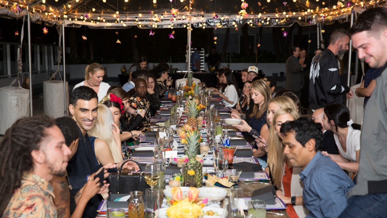 What It's Like to Attend W Hotel's New Invite-Only Dinner Party for Creatives