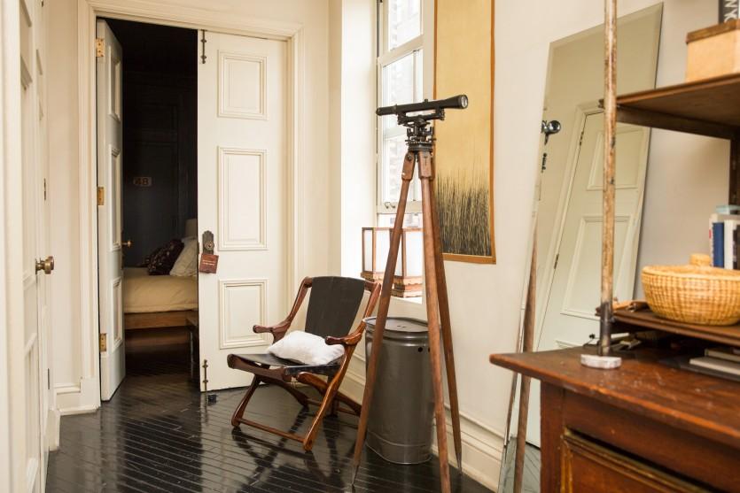 inside roman and williams interior designers home