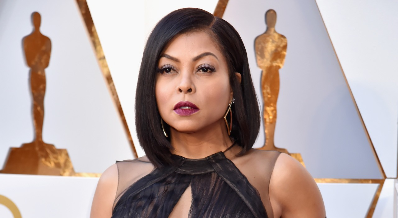 Taraji's Oscar Look Included the Brand New Glossier Launch