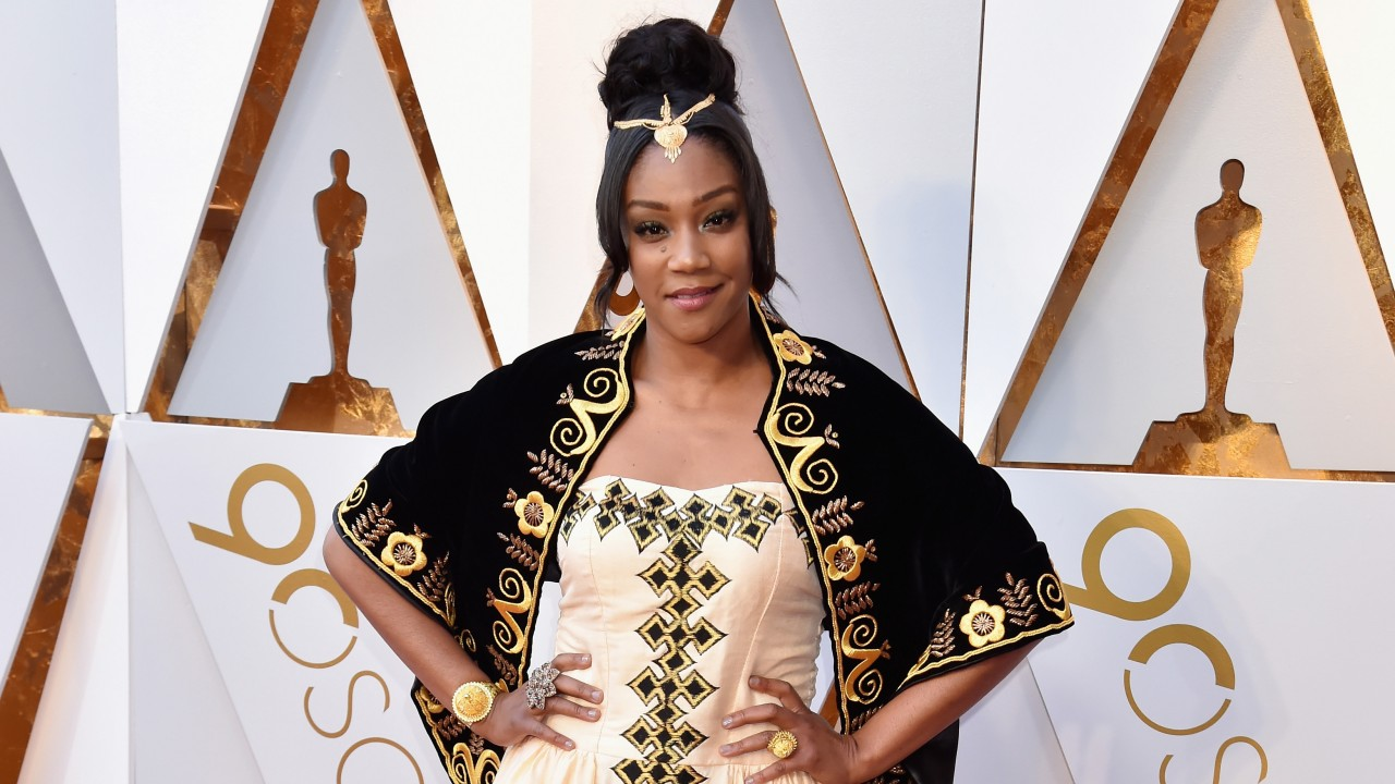The Sweet Story Behind Tiffany Haddish's Oscars Gown