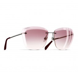 Butterfly Spring Sunglasses by CHANEL