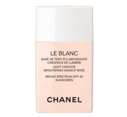 Le Blanc Light Creator Brightening Makeup Base Broad Spectrum SPF 40 by CHANEL