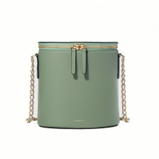 cuero mor dustry green perla bucket chain