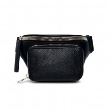 kara store black bum bag