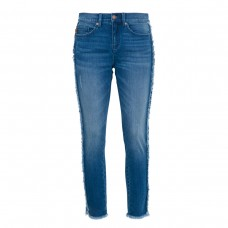 karl lagerfeld paris fringe denim jean