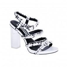 karl lagerfeld paris lara pearl accented high heel sandals