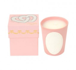 Delice Love Candle in Marshmallow by Ladurée