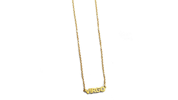 the m jewelers the little zodiac pendant necklace