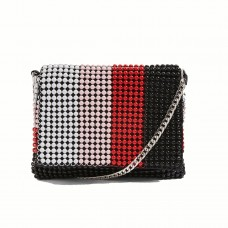 topshop billie beaded crossbody bag