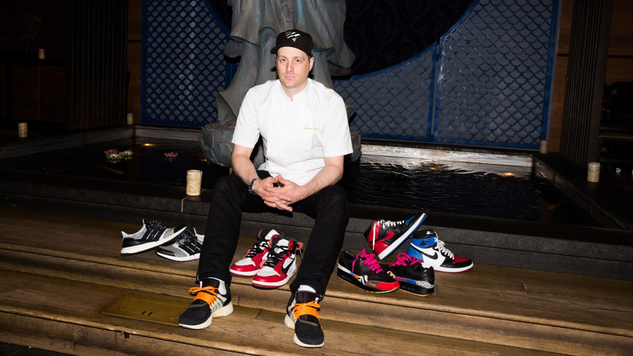 24 Hours with the Tao Chef Who Wears Off-White x Nike in the Kitchen
