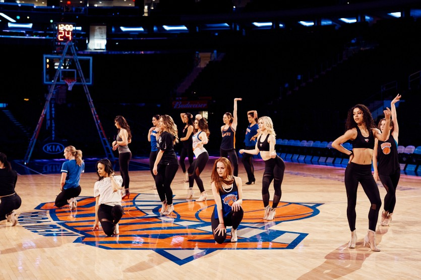 knicks city dancers