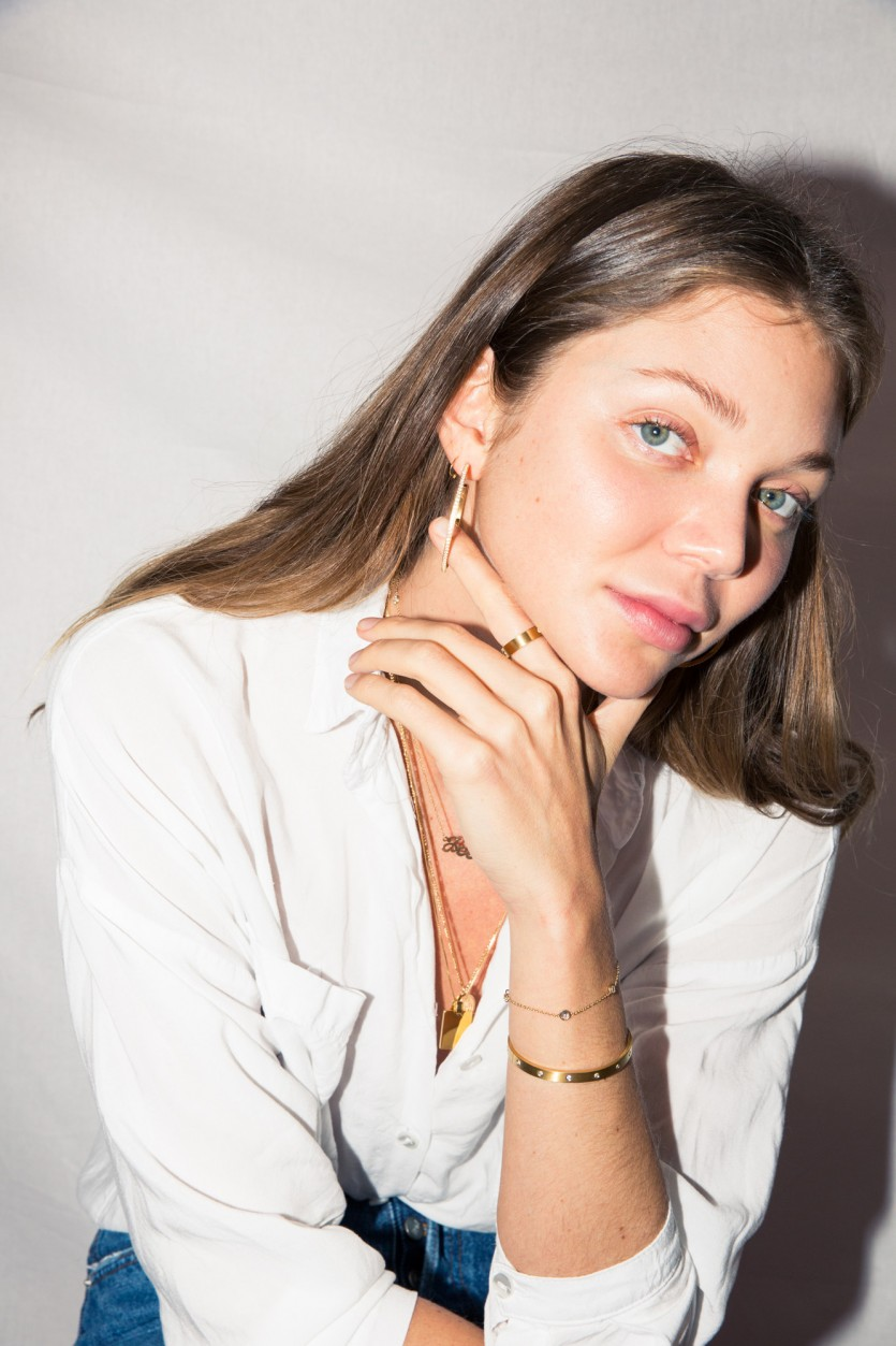 Necklace Layering Tips From Jessie Andrews Of Bagatiba