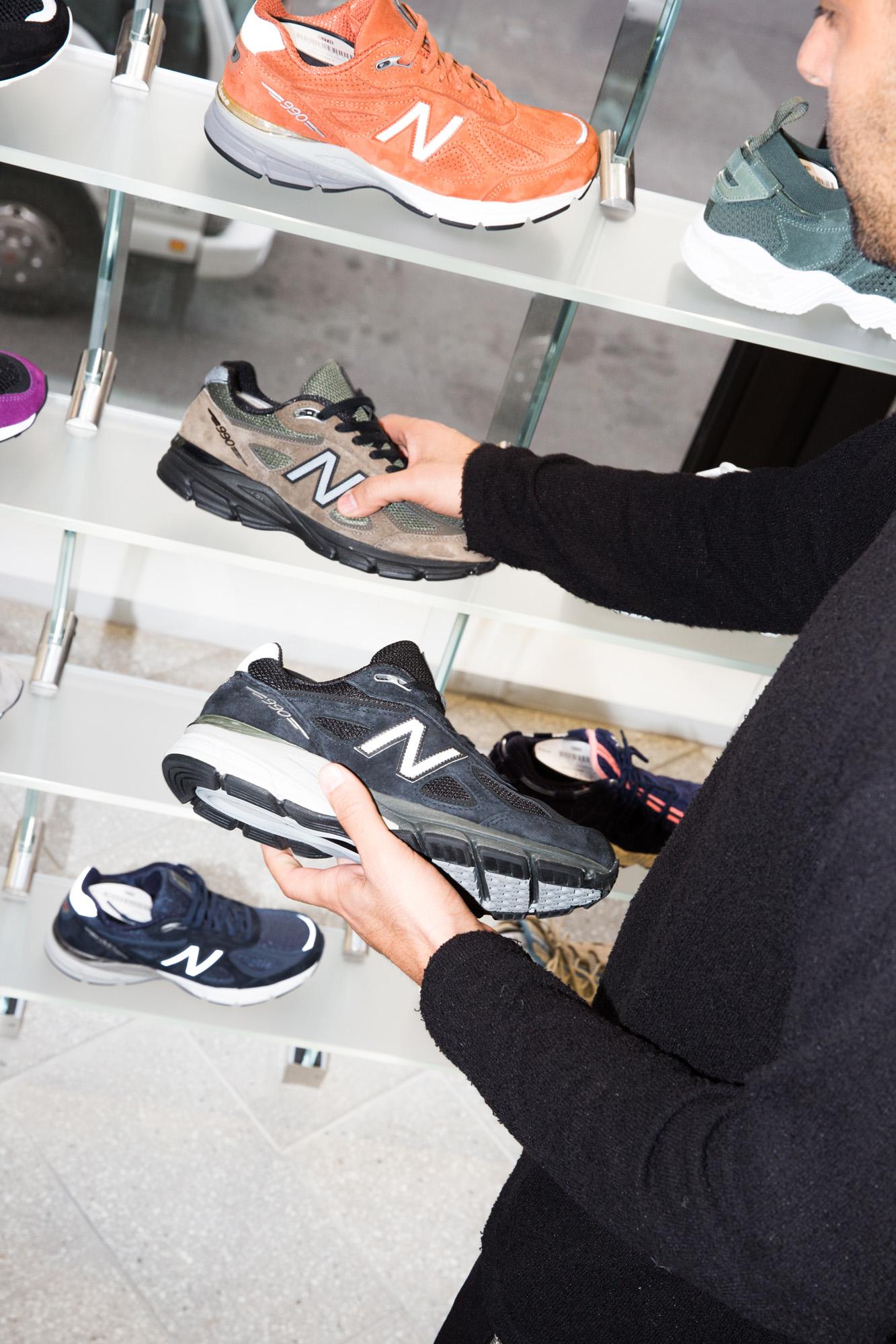 Joe La Puma on Retroed Sneakers